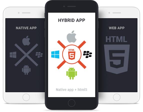 Hybrid App Development in hestabit